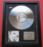 MARIAH CAREY - Music Box CD / PLATINUM PRESENTATION DISC